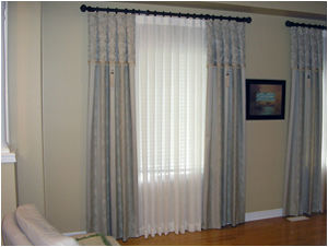 Curtains from Helen's Drapery in Toronto